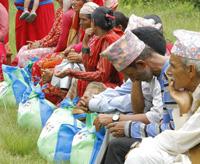ネパール大地震支援活動