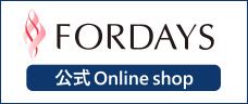 フォーデイズ 公式 Online shopロゴ